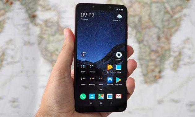 HP Xiaomi Terbaru Pocophone F1