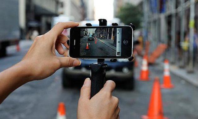 Aplikasi kamera blur dengan sendirinya