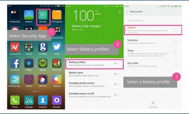 Cara Menghemat Baterai HP Xiaomi Tidak Cepat Boros