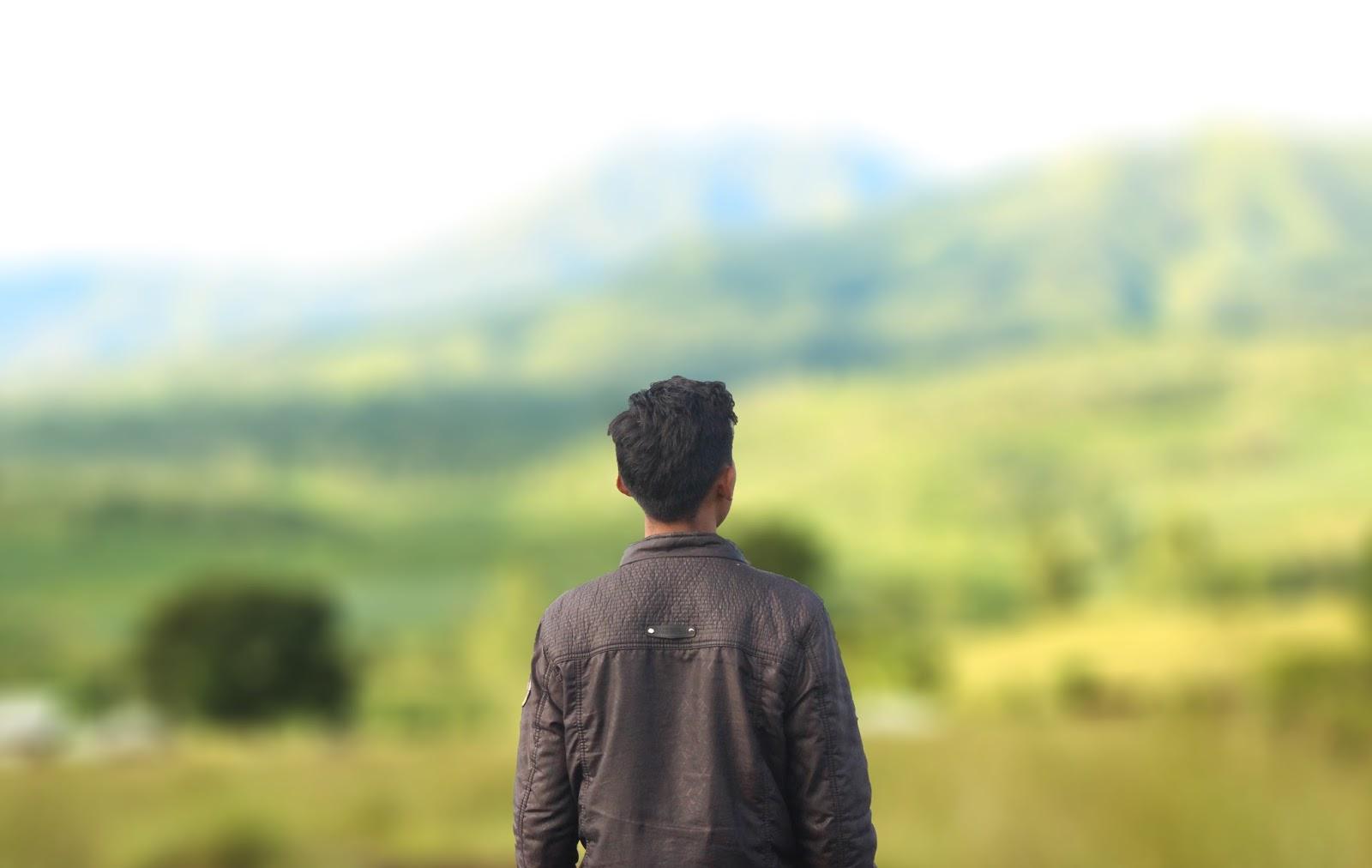 Cara memotret background blur dengan kamera hp