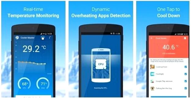 Aplikasi Pendingin CPU HP Android Otomatis