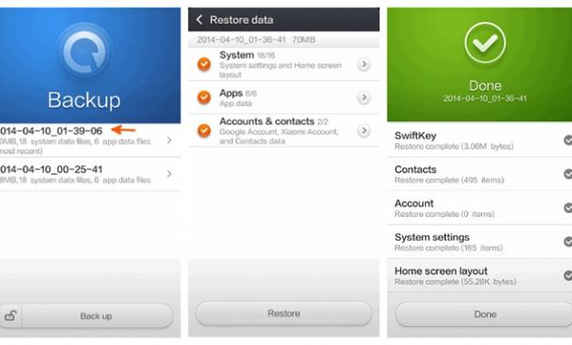 Tips Backup Data Xiaomi