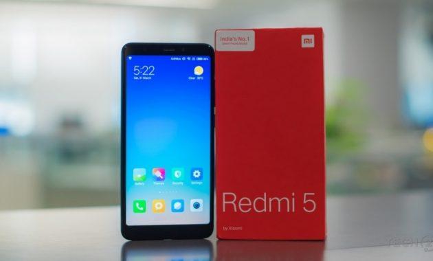 HP Xiaomi RAM 3GB Redmi 5