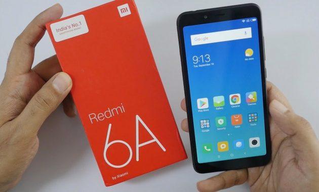 HP Xiaomi RAM 3GB Redmi 6A