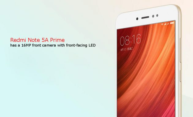 HP Xiaomi RAM 3GB Redmi Note 5A Prime