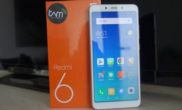 HP Xiaomi RAM 4GB Redmi 6