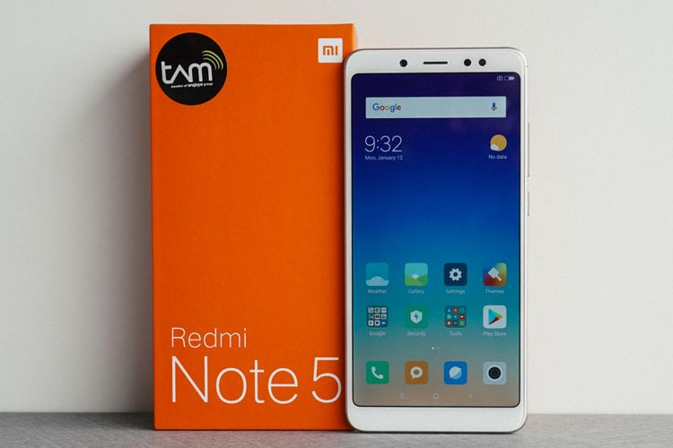 HP Xiaomi RAM 4GB Redmi Note 5