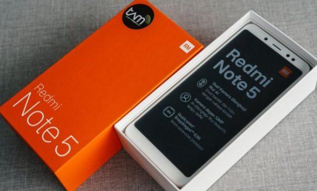 HP Xiaomi RAM 6GB Redmi Note 5
