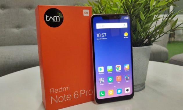 HP Xiaomi RAM 6GB Redmi Note 6 Pro