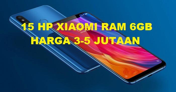 HP Xiaomi RAM 6GB