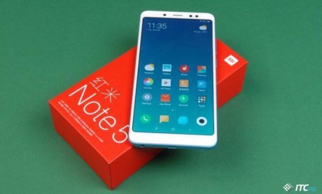 HP Xiaomi Dual Kamera Redmi Note 5