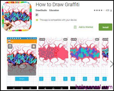 Aplikasi edit tulisan grafiti How To Draw Graffities