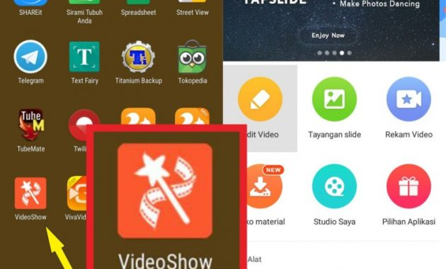 Aplikasi edit video android offline Video Show