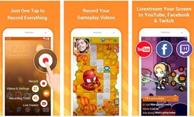 Aplikasi perekam layar android terbaru