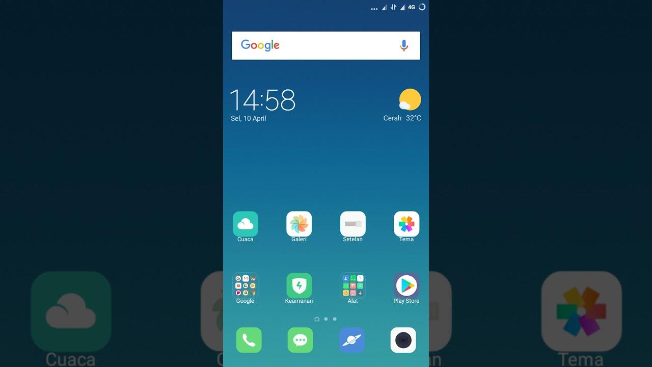 Cara merekam layar hp xiaomi tanpa aplikasi