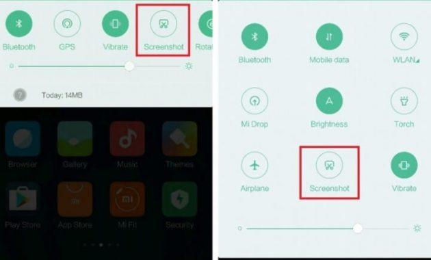 Cara screenshot hp xiaomi terbaru