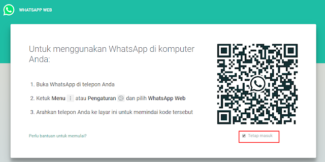 login wa di pc tanpa hp