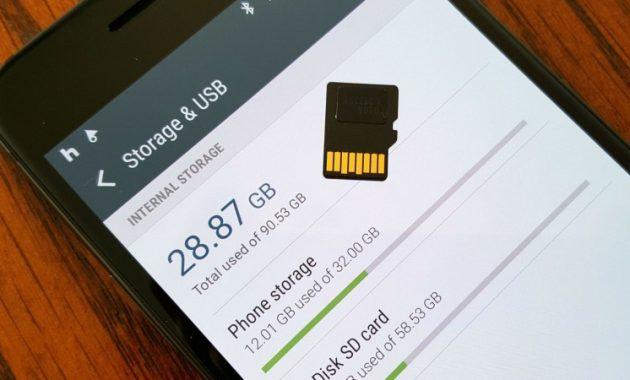Cara backup data android ke microsd