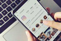 Cara dm instagram di browser