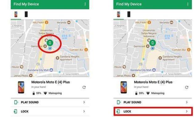 Cara menggunakan find my device mudah