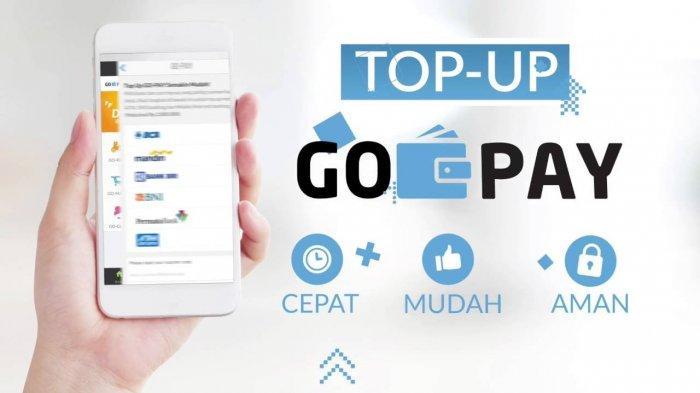 Cara top up gopay dengan mudah